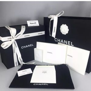 Chanel Magnetic Purse Box Empty Gift Set~ Small